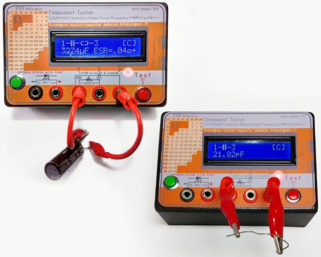 esr meter tester komponen - TV Lama Muncul Gambarnya