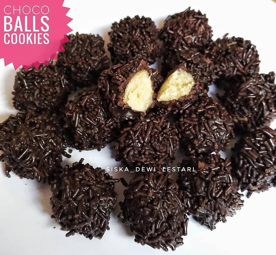 Kue Kering Choco Balls Cookies