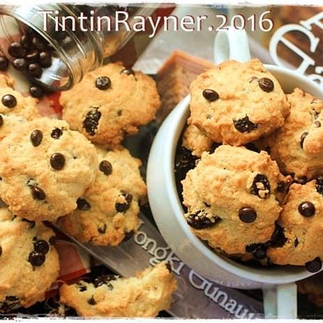 Kue Kering Vanilla Chocochips Cookies