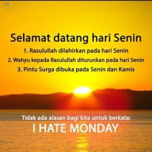 11 Kumpulan Gambar Kata Kata Selamat Hari Senin