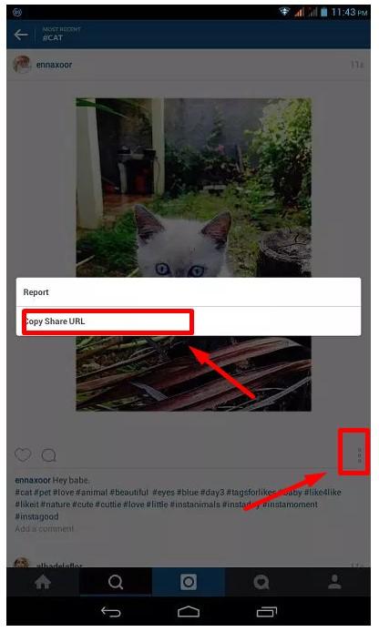 1 Cara Menyimpan Foto atau Video Instagram di HP Android