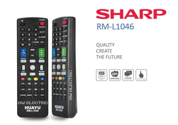Kode Remot TV Sharp Terbaru dan Terlengkap