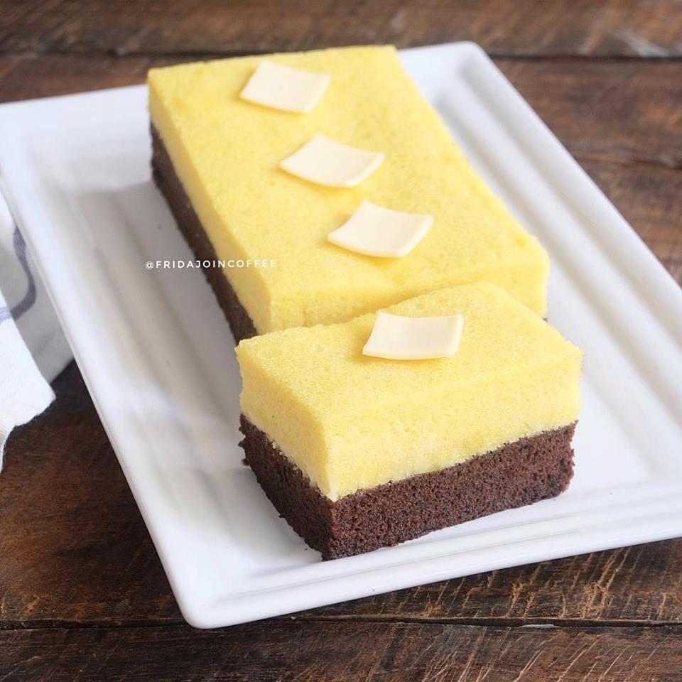 Resep dan Cara membuat Brownies Kukus Keju Coklat