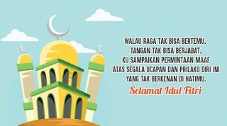 11  Gambar Ucapan Kata Kata Selamat Idul Fitri