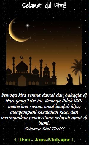 15  Gambar Ucapan Kata Kata Selamat Idul Fitri