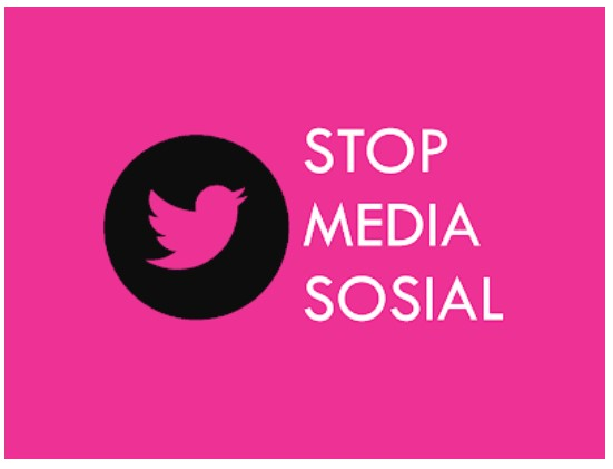 tips lulus ujian : stop sosial media