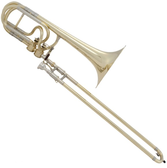 gambar trombon alat musik tiup