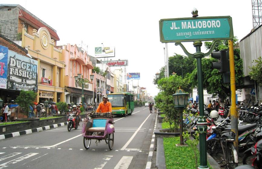 malioboro adalah tempat wisata di jogja