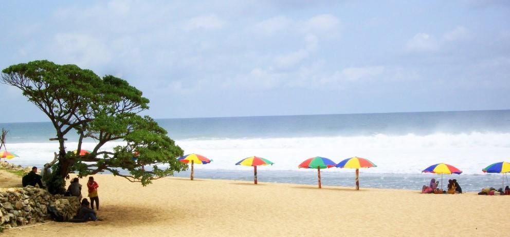 pantai pok tunggal tempat wisata di jogja