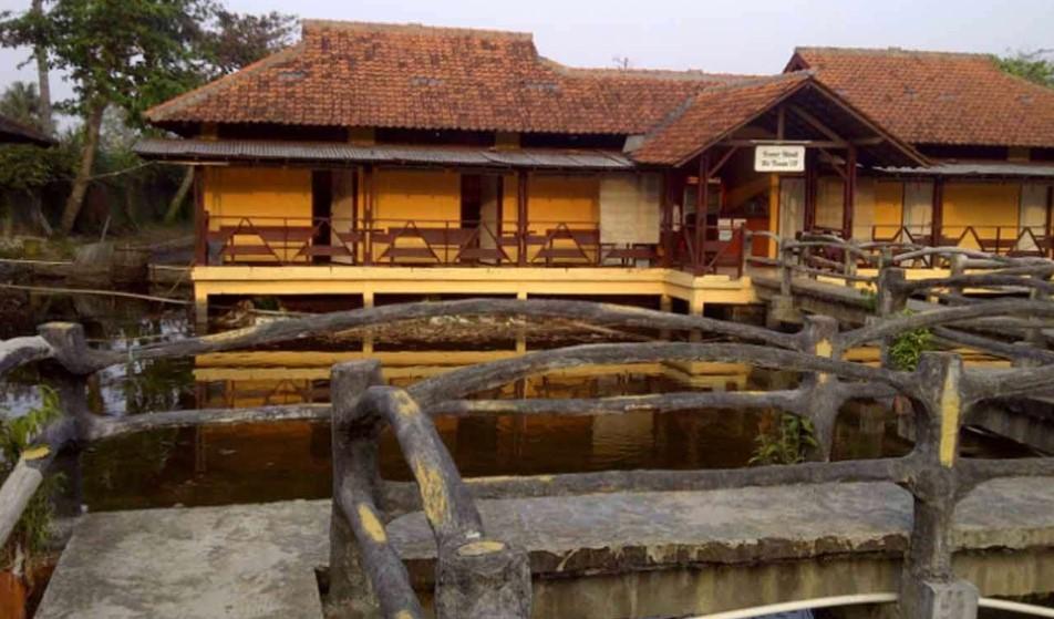 penginapan di objek wisata alam pemandian air panas Ciseeng