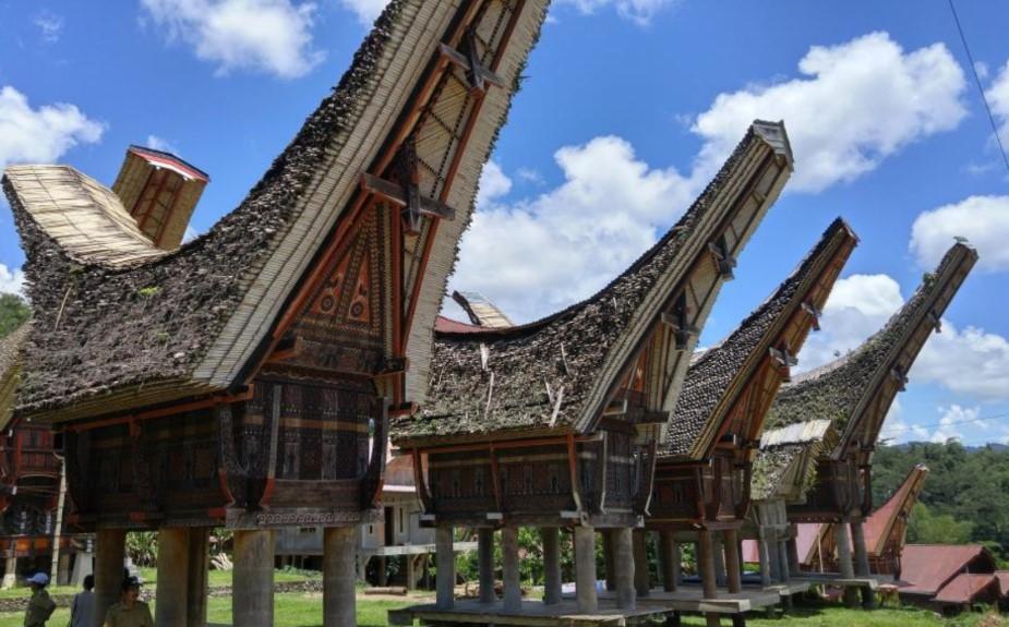 Rumah Tongkonan, Sulawesi Selatan