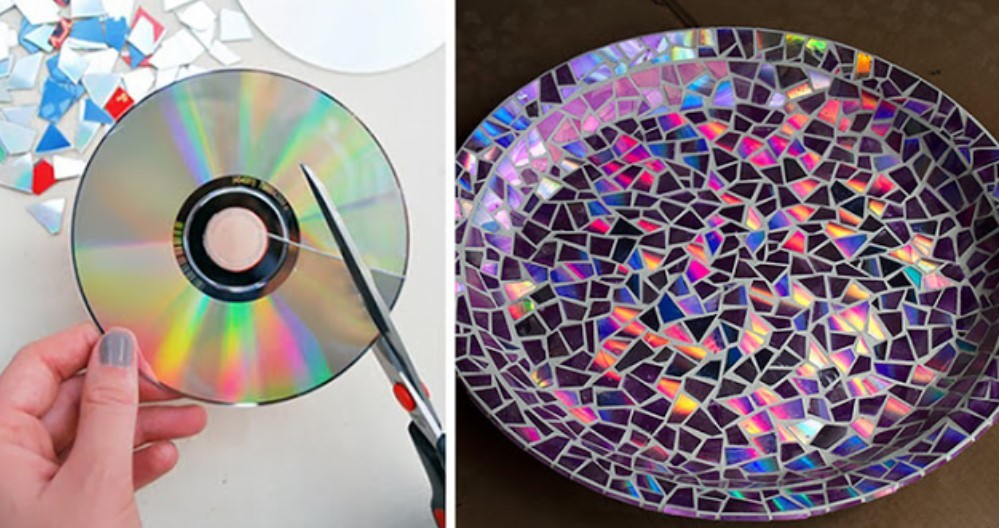 Piringan CD bekas