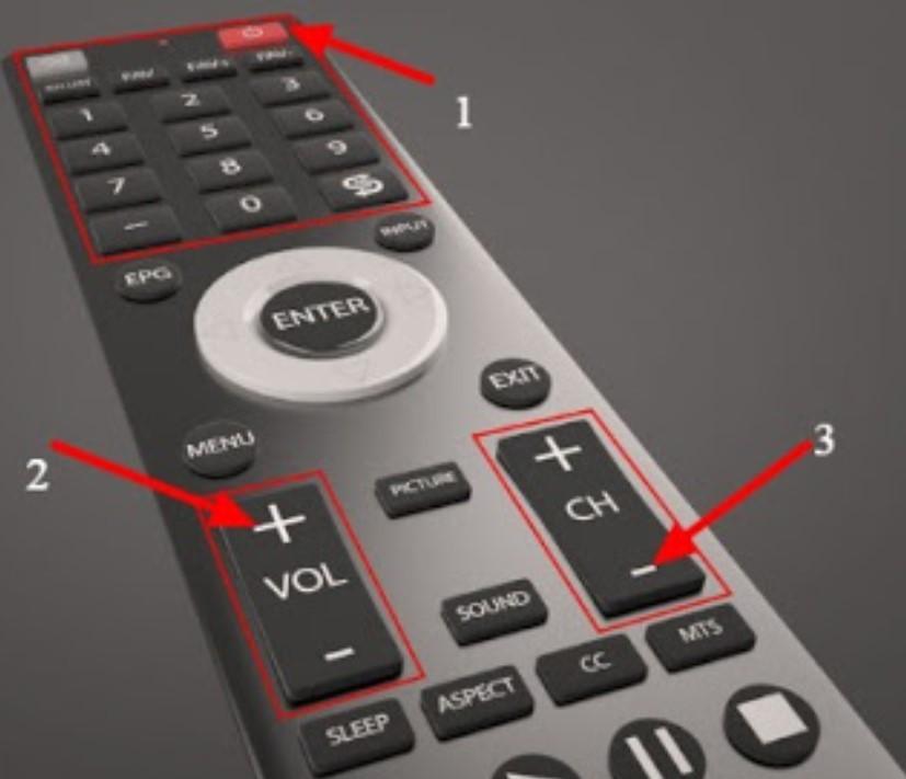 Cara Setting Remote TV Secara Otomatis dengan Tombol Volume