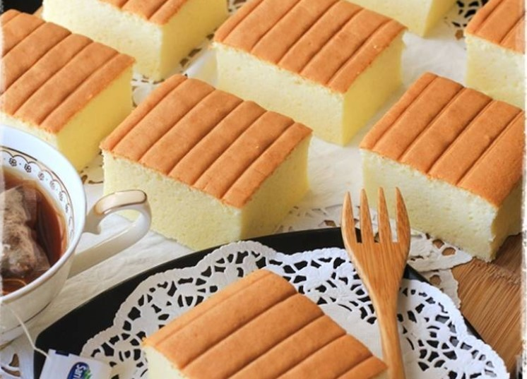 Cake Kekinian [Ogura Cake Cheese Cottony Cake]
