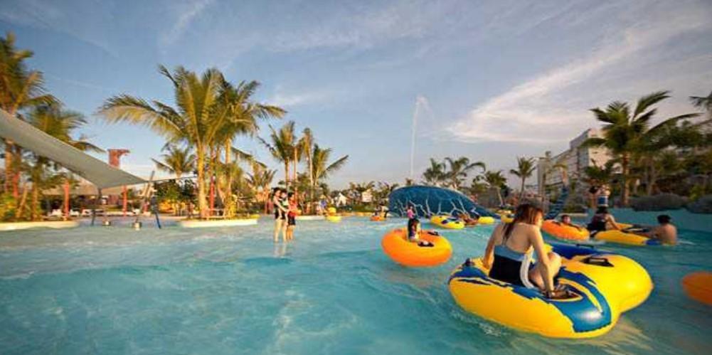 citraland waterpark - kolam renang di Surabaya